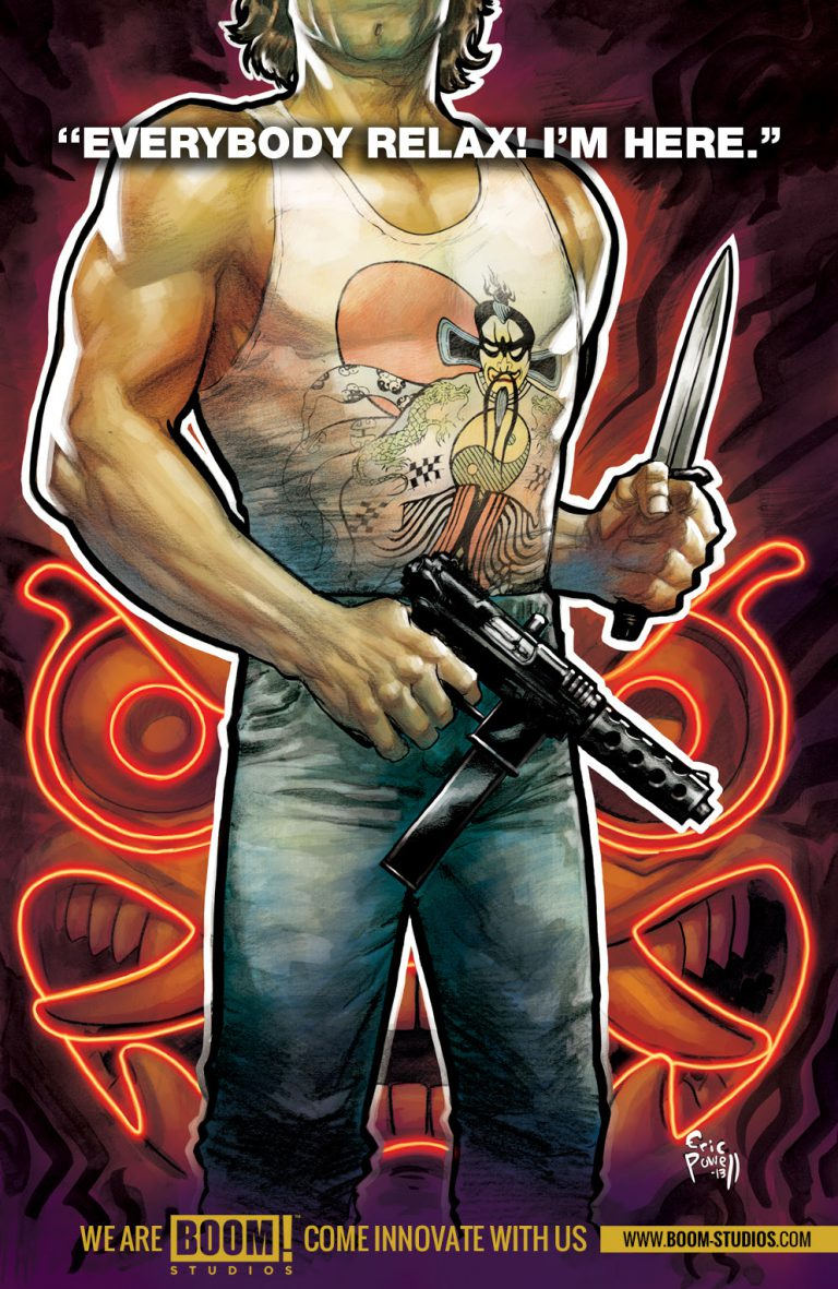 "Boom! Teases ""Big Trouble in Little China"" Series"