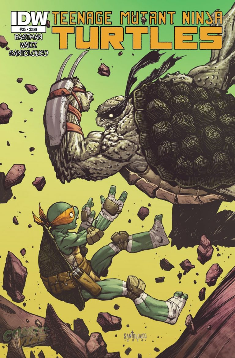 Read more about the article Teenage Mutant Ninja Turtle #35 Cover Reveal