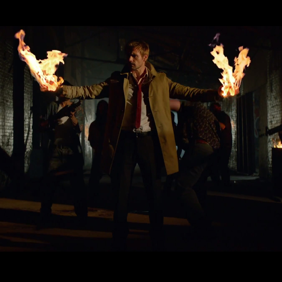 'Constantine' Trailer & More TV Greenlights