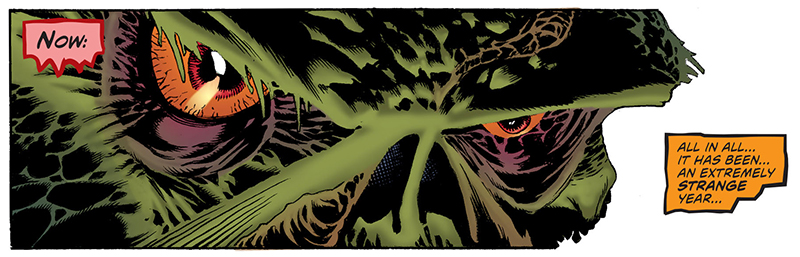 Convergence: Swamp Thing #1 Review
