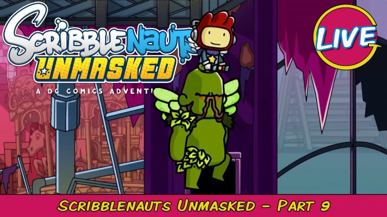 Swamp Fight Club! LIVE Scribblenauts Unmasked Pt. 9