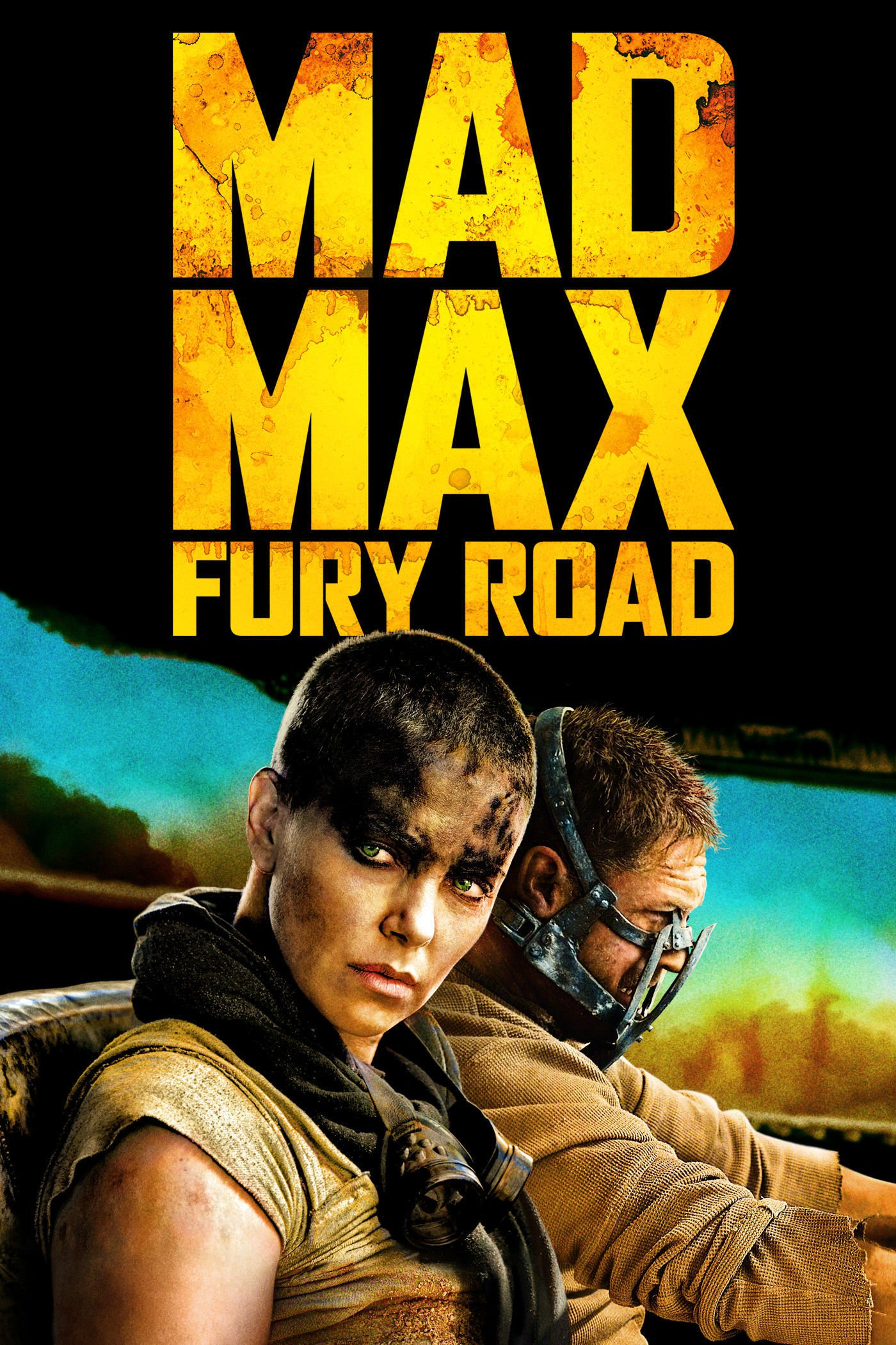 "Poster for the movie ""Mad Max Fury Road"""