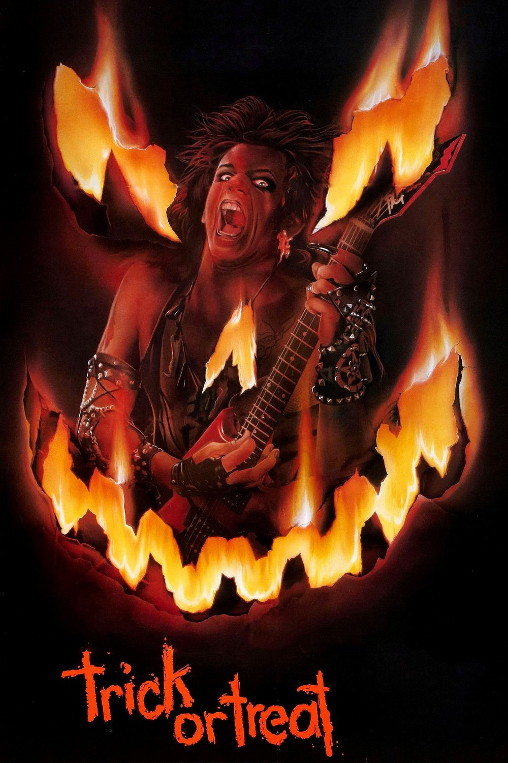 "Poster for the movie ""Trick or Treat"""