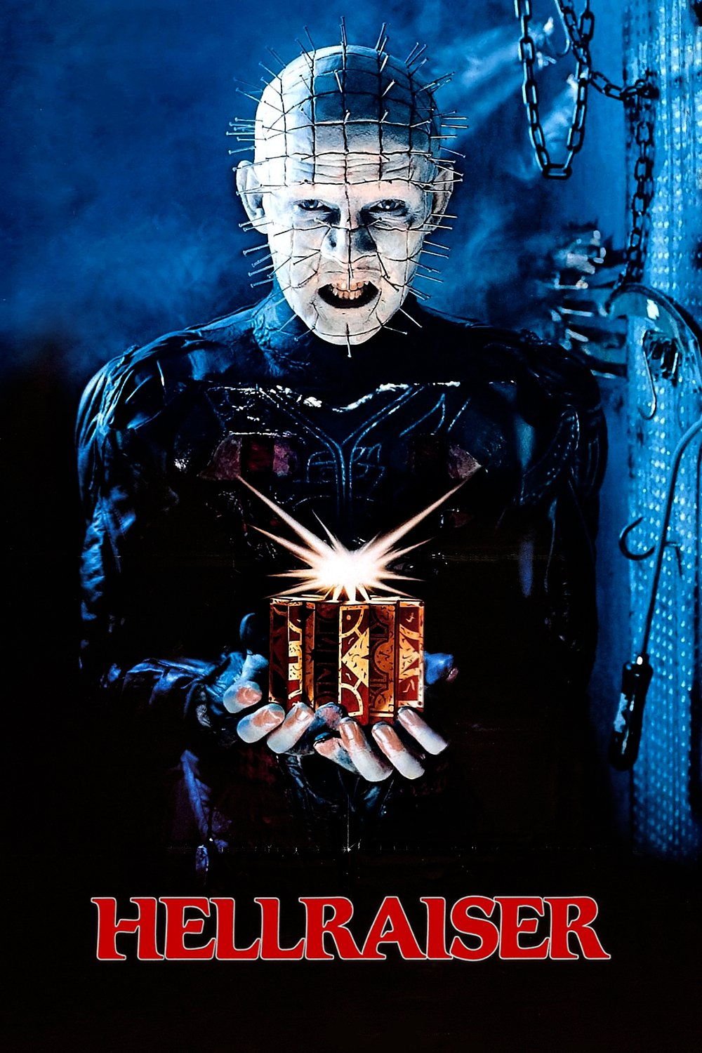 "Poster for the movie ""Hellraiser"""
