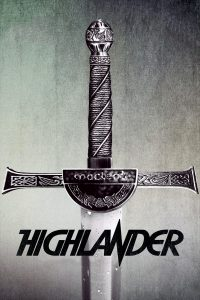 "Poster for the movie ""Highlander"""