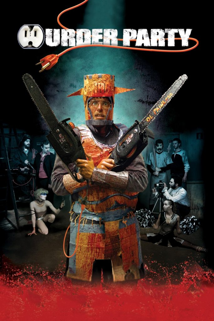 """Poster for the movie """"Murder Party"""""""