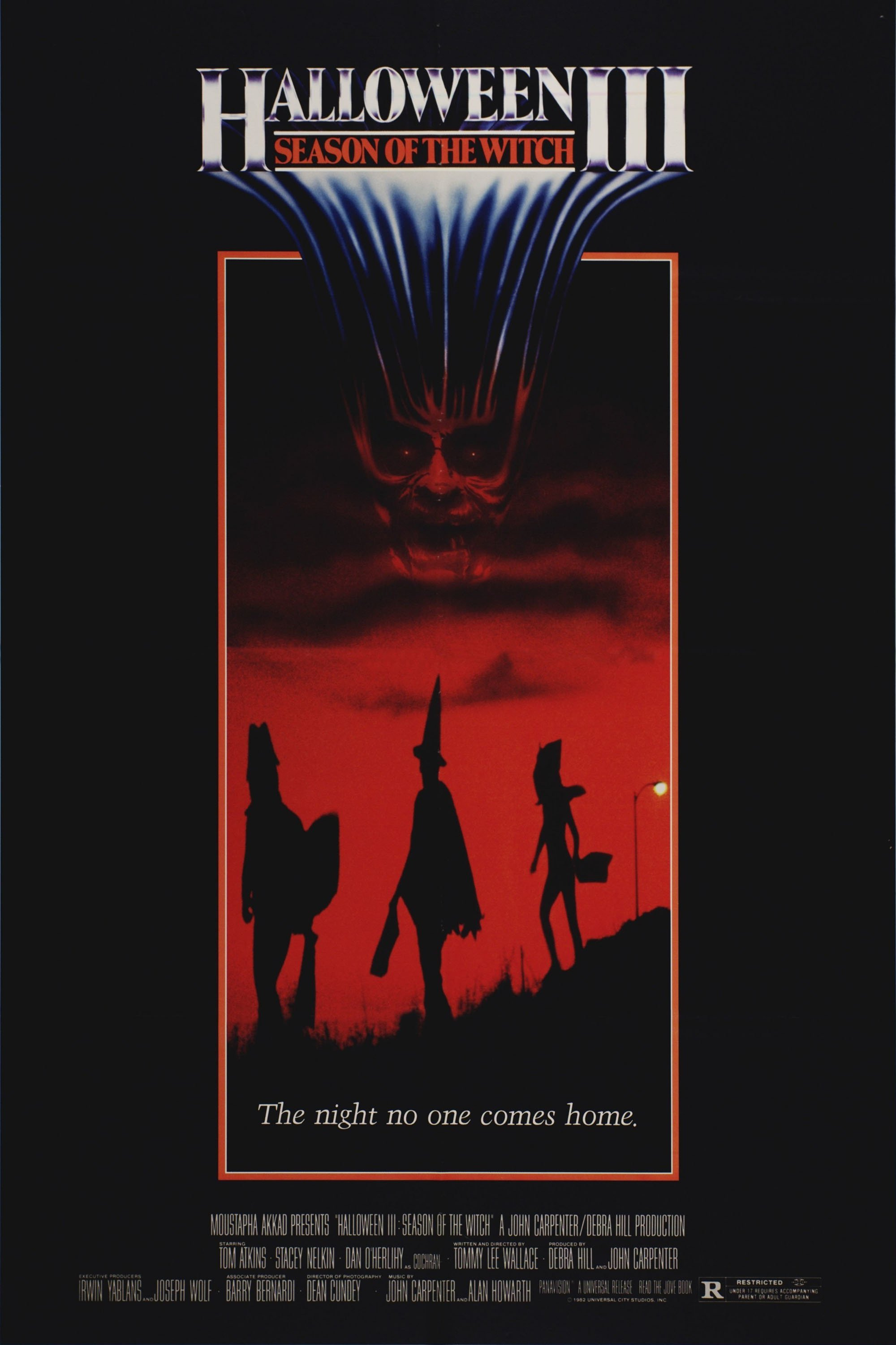 "Poster for the movie ""Halloween III: Season of the Witch"""