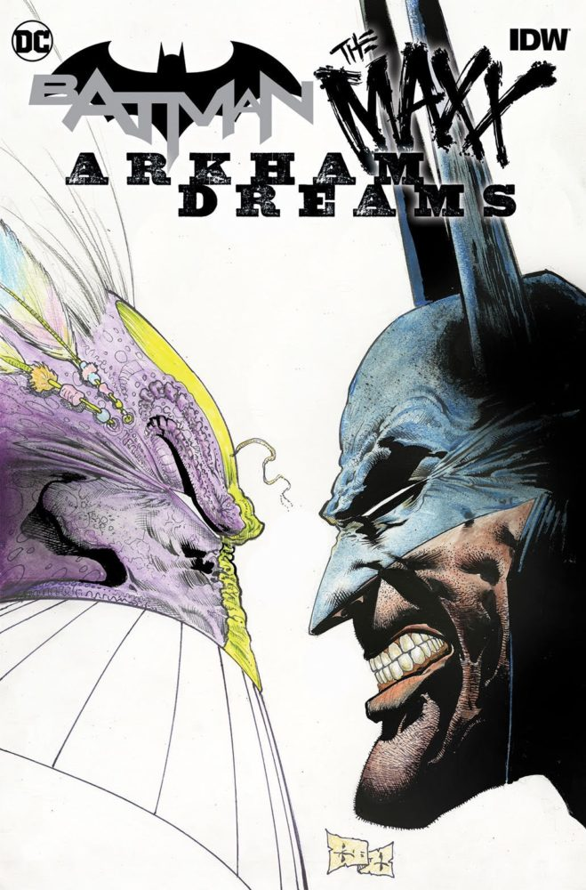 Batman The Maxx Cover
