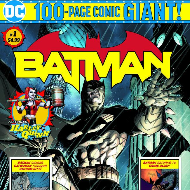 DC's Walmart Exclusive 100-Page Giant Comics