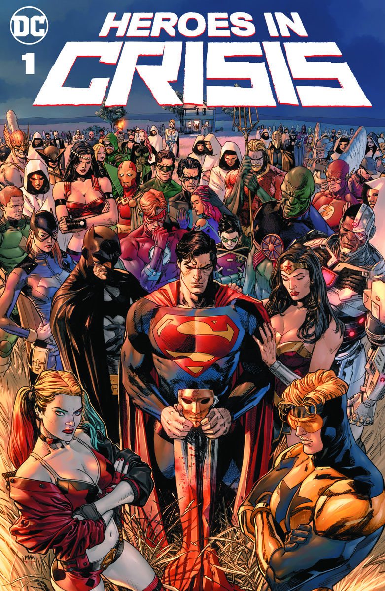 DC Comics Heroes In Crisis Cover
