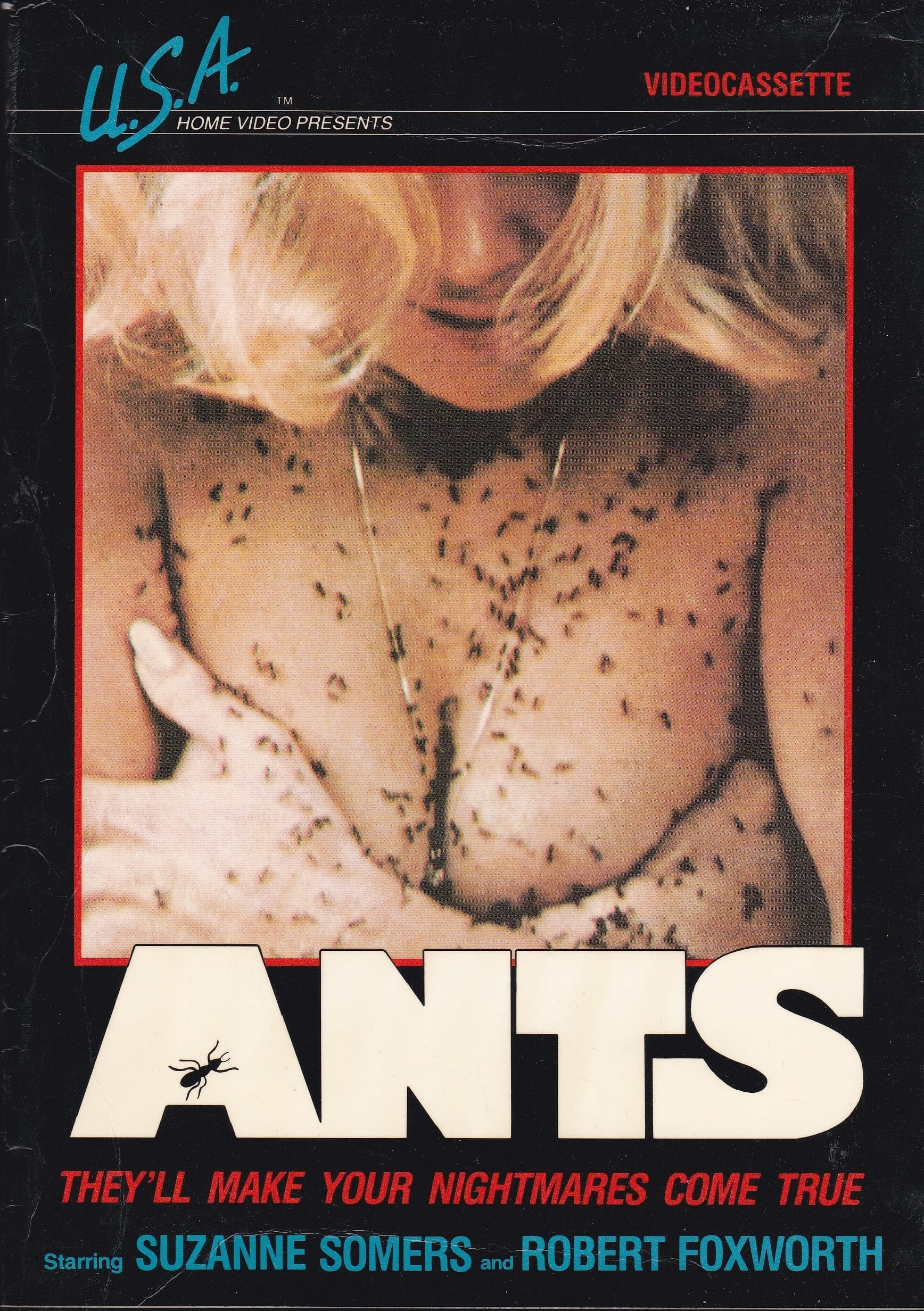 """Poster for the movie """"Ants"""""""