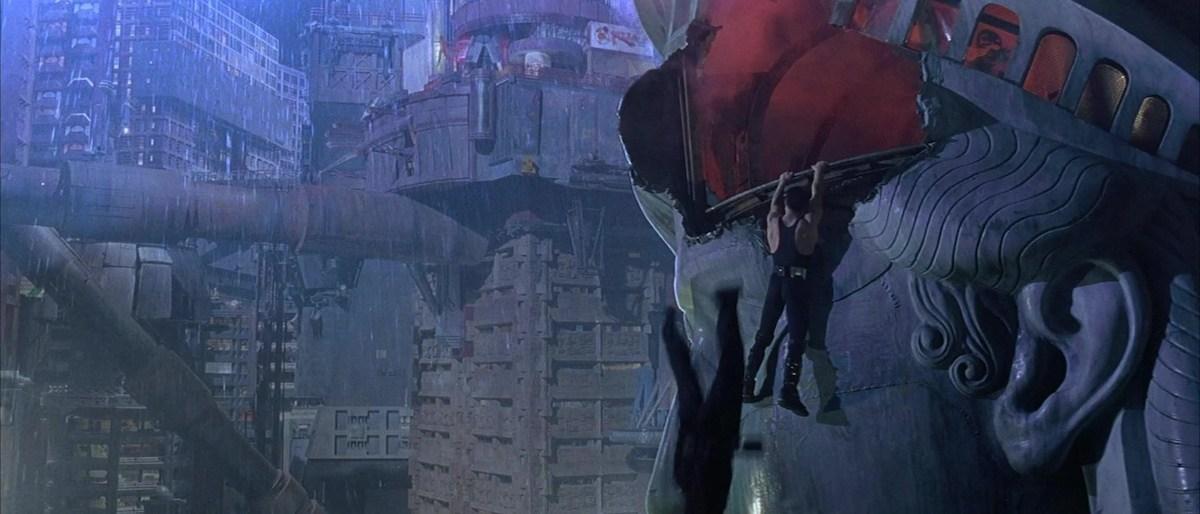 Judge Dredd Statue of Liberty