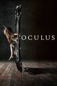 "Poster for the movie ""Oculus"""