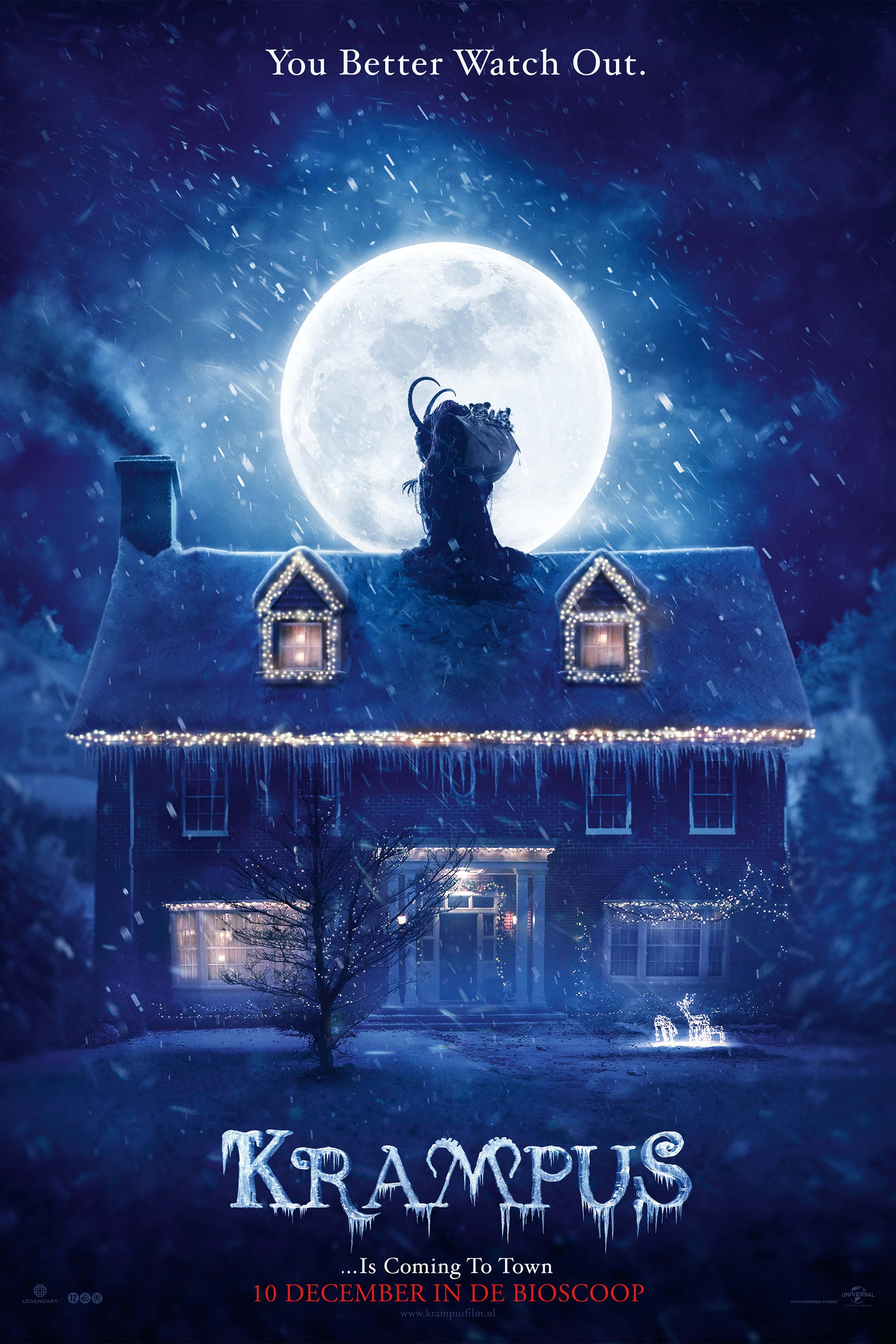 "Poster for the movie ""Krampus"""