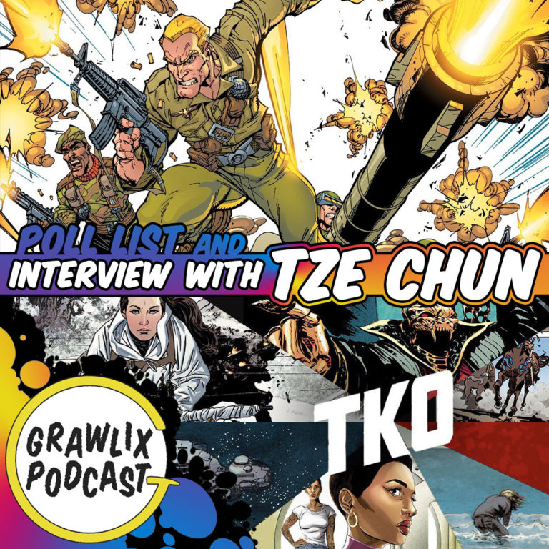Grawlix Podcast #86: Classic GI Joe & Tze Chun Interview