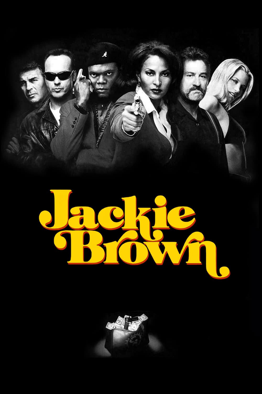 "Poster for the movie ""Jackie Brown"""