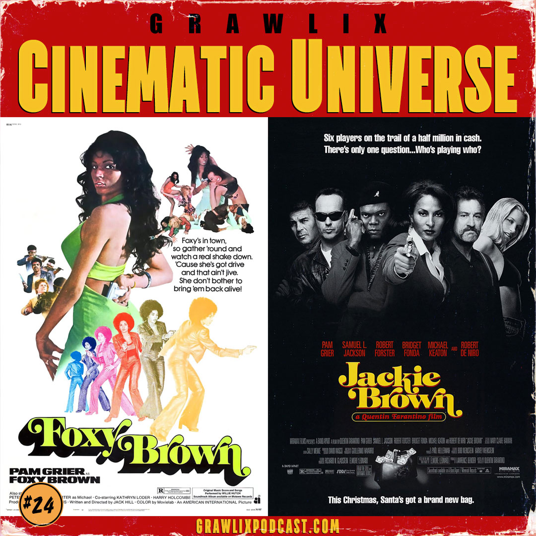 Grawlix Cinematic Universe: Foxy Brown & Jackie Brown