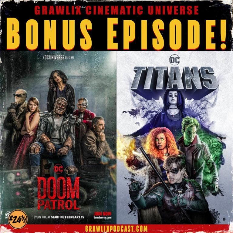 GCU Bonus: Doom Patrol, Titans, DC Universe