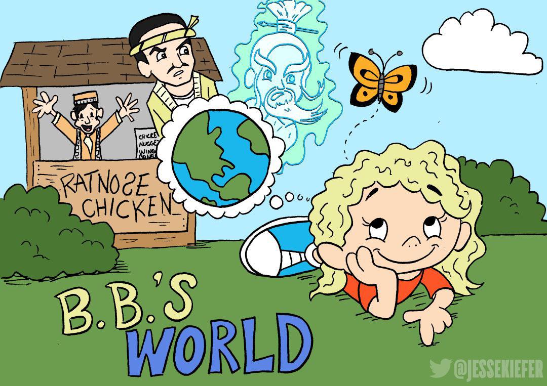 BB's World Street Fighter Kill Bill Mash-up