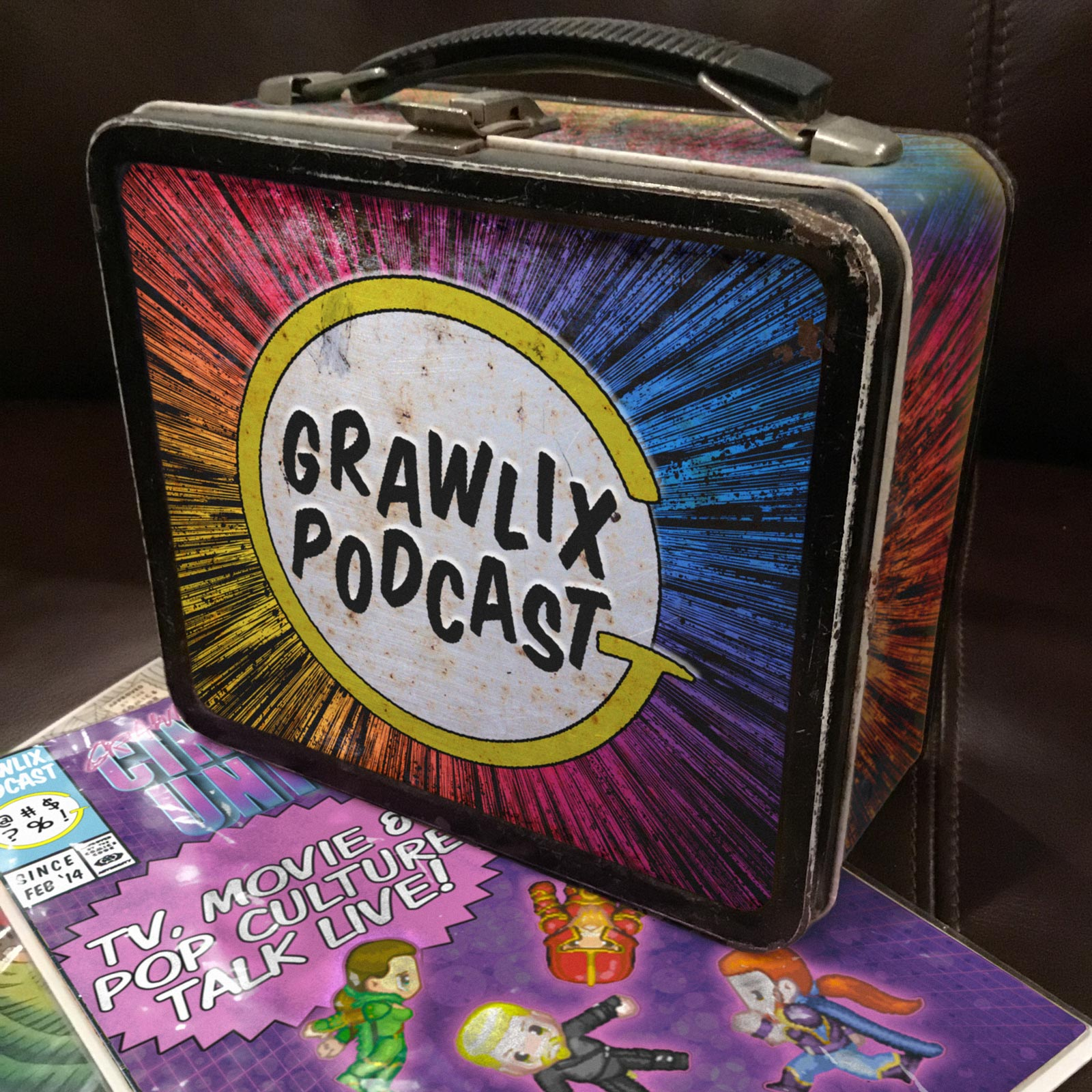 Grawlix Lunch Box Live!