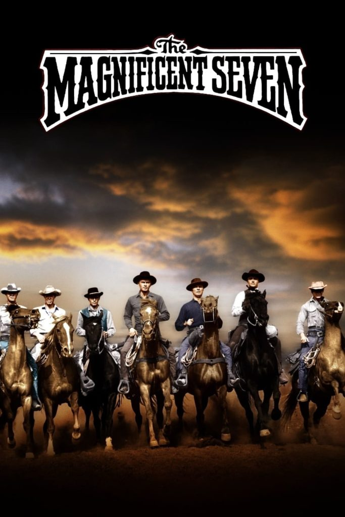"Poster for the movie ""The Magnificent Seven"""