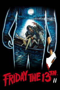 "Poster for the movie ""Friday the 13th Part 2"""