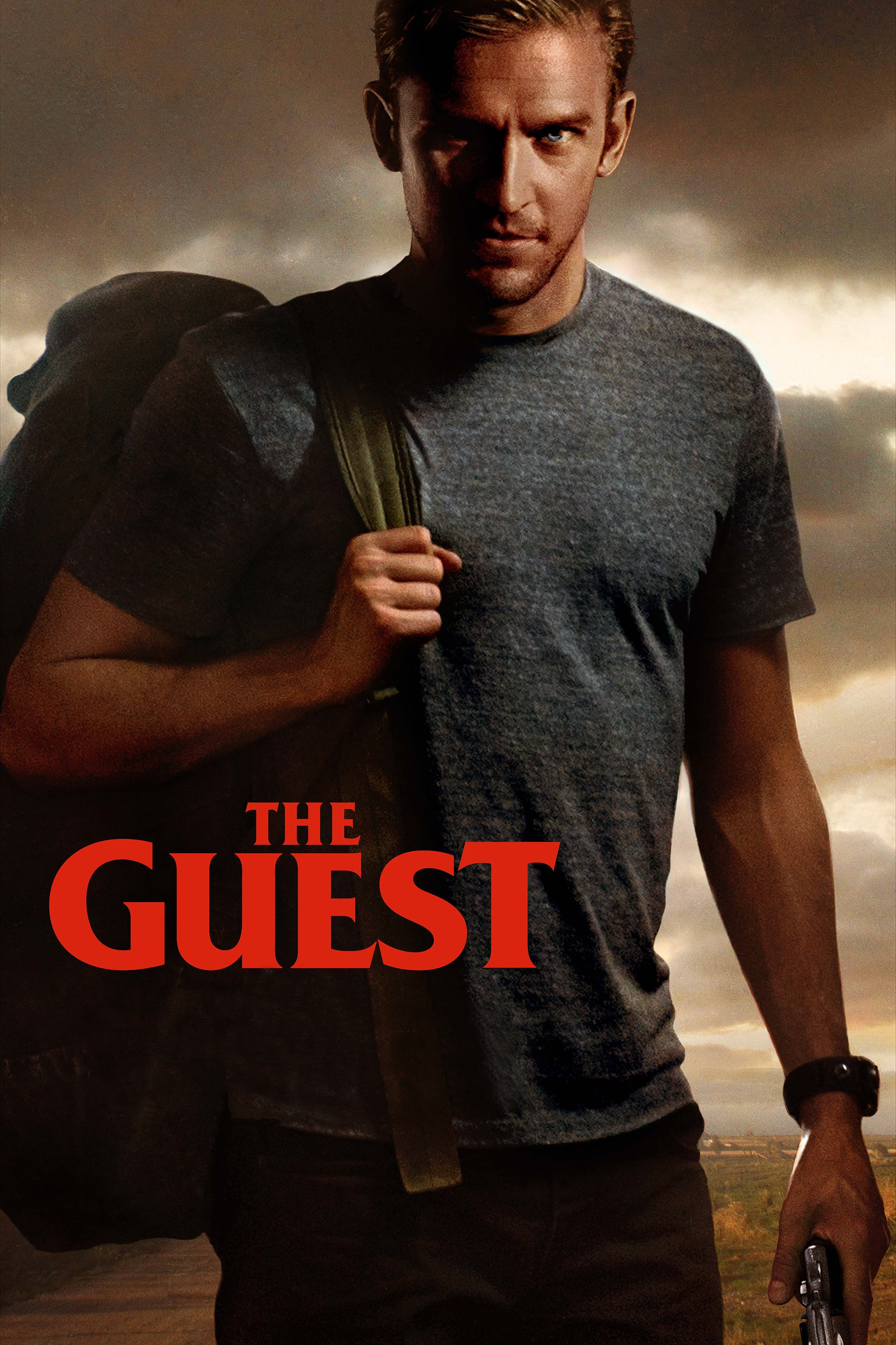 "Poster for the movie ""The Guest"""