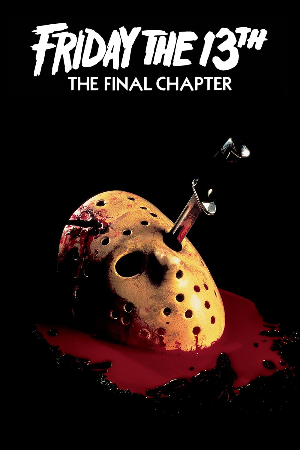 "Poster for the movie ""Friday the 13th: The Final Chapter"""