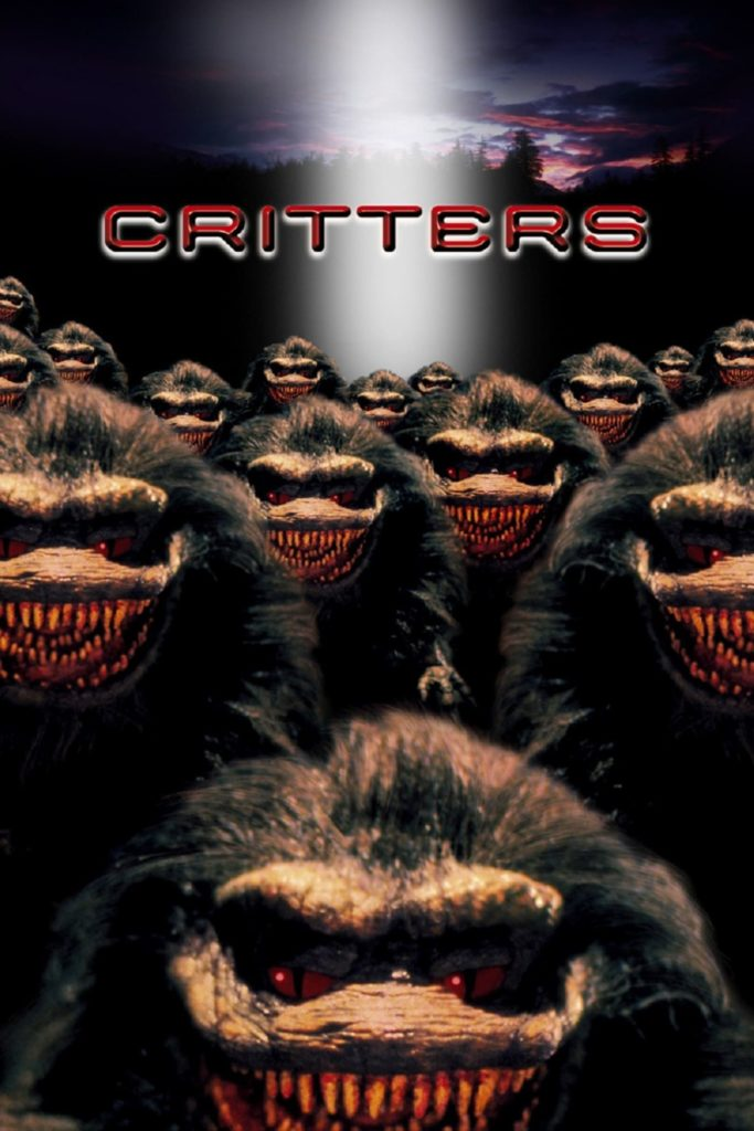 "Poster for the movie ""Critters"""