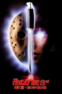 "Poster for the movie ""Friday the 13th Part VII: The New Blood"""