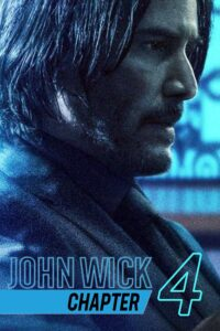 """Poster for the movie """"John Wick: Chapter 4"""""""