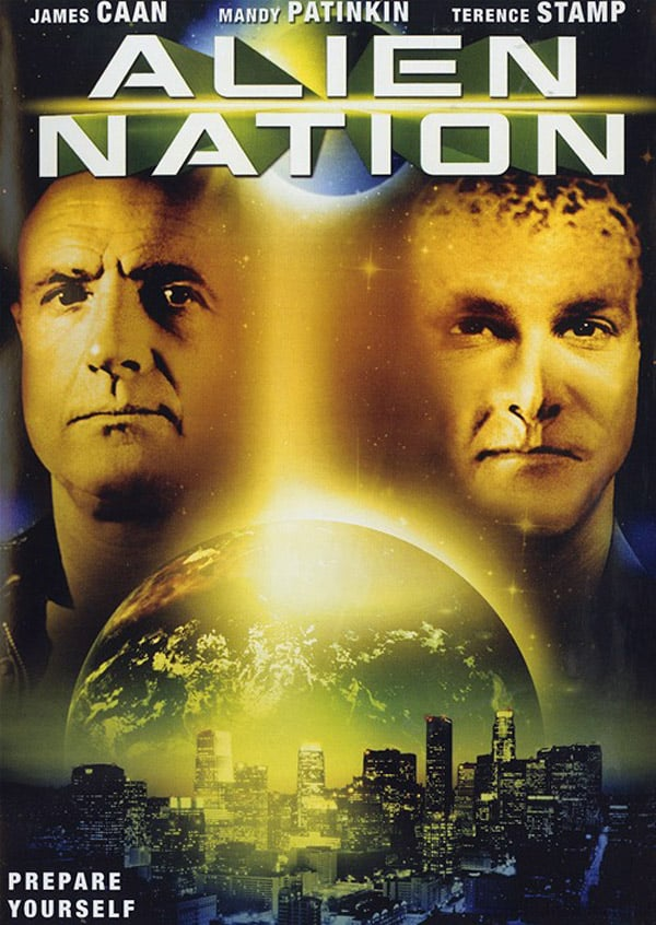 "Poster for the movie ""Alien Nation"""