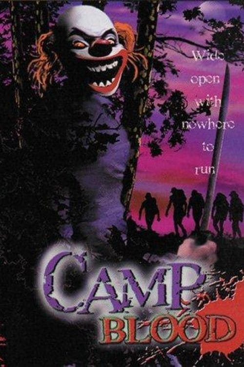 "Poster for the movie ""Camp Blood"""