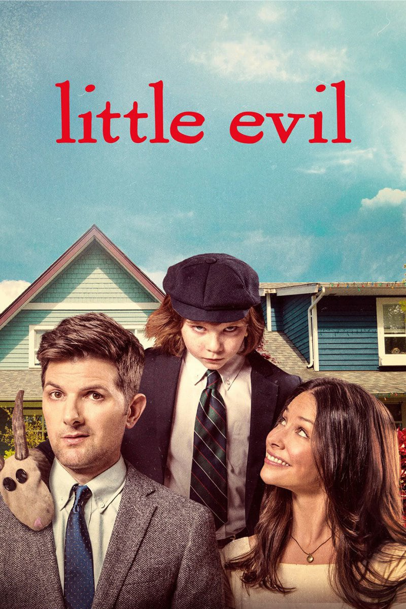 "Poster for the movie ""Little Evil"""