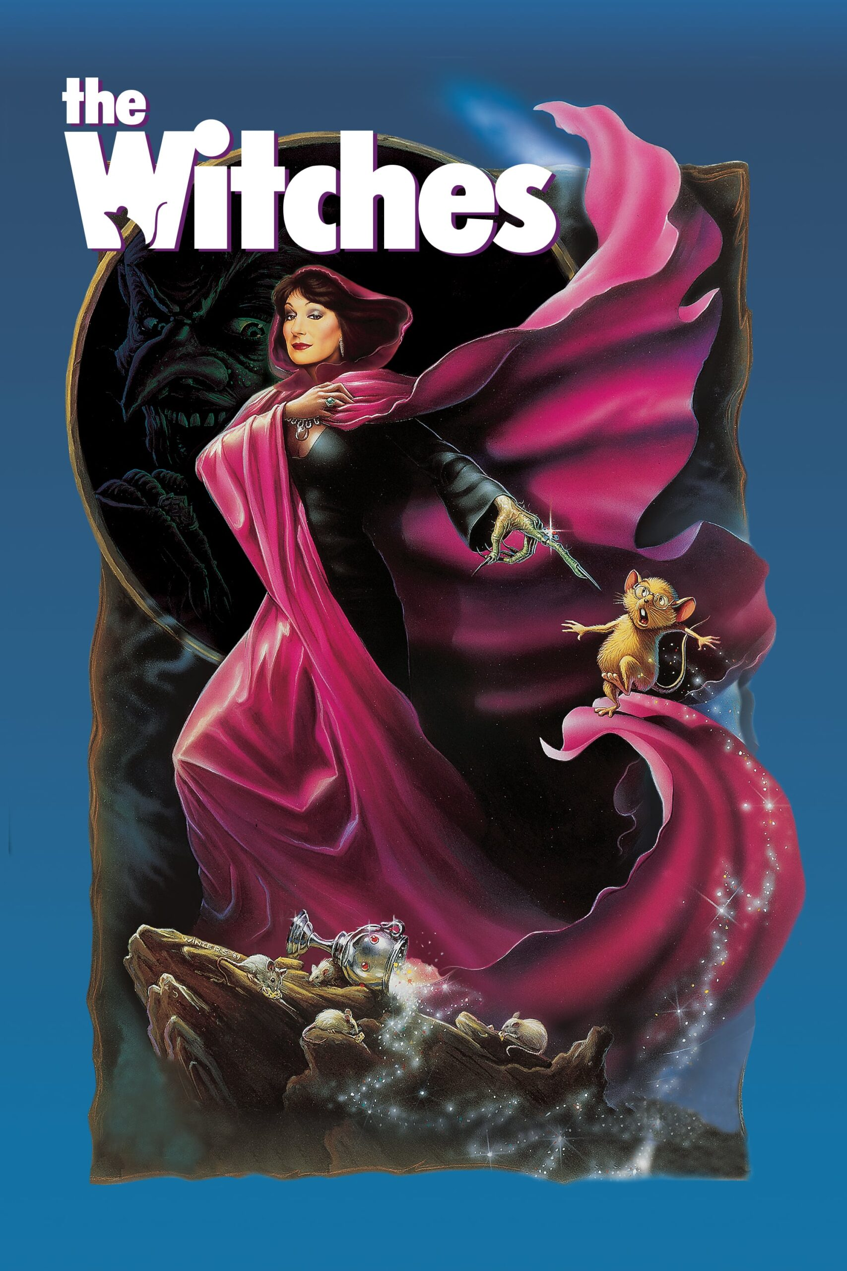"Poster for the movie ""The Witches"""