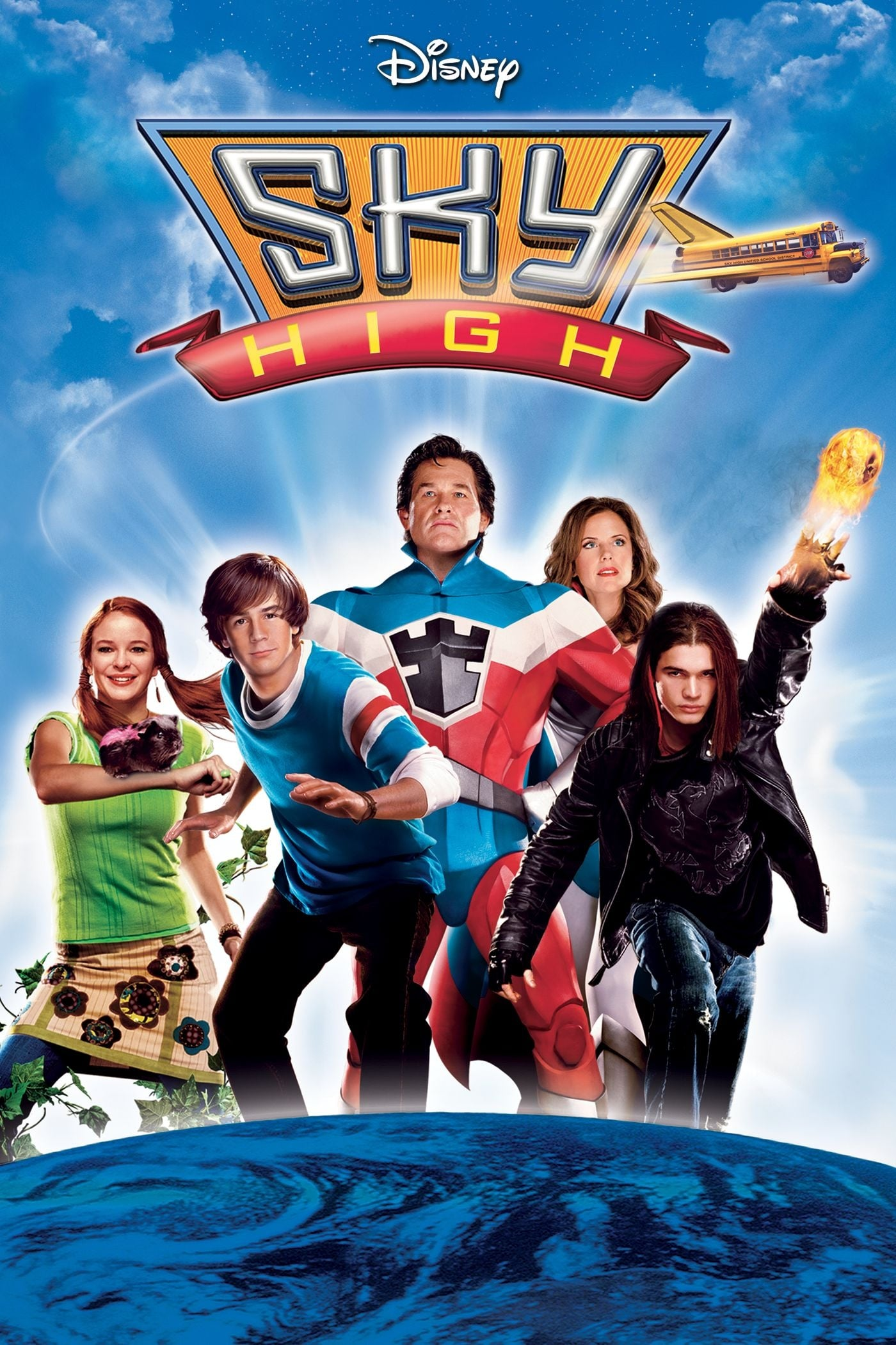 """Poster for the movie """"Sky High"""""""